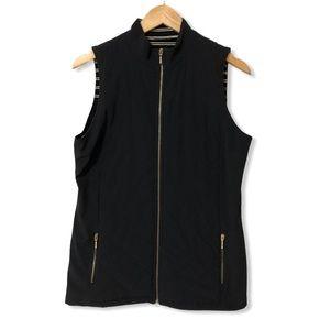 Chico's Zenergy Quilted Black Vest—Chico's 1 (M)